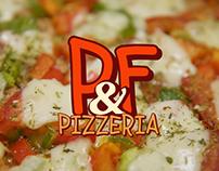 P&F Pizzeria - Logo & Menù