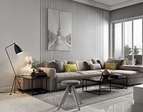 60m2 apartment - 1 bedroom