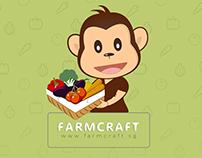 FarmCraft - App UI/UX and Logo