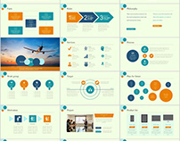 48+ company report charts PowerPoint template