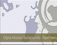 Digital Abstract Backgrounds - Paper texture style