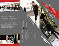 Gibney Dance - NYC Dance Deconstructed Tri-fold Brochur