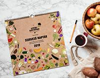Seasonal Organizer Calendar - Felelős Gasztrohős