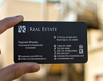 Quick Metal Card for Realtor - Ready in 5 Days or Less!