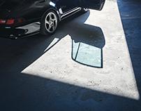 Porsche 993 in a nuclear bunker