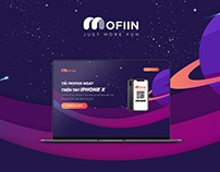 Landing page Event for Mofiin