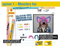 Creatividad y arte - Havanna y Monsters University.