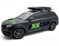 Vetica | Axxcar Logo and identity