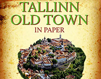 "Children`s book "" Tallinn Old Town in Paper"""
