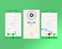 Dollar Drive Mobile App - Designed By Team