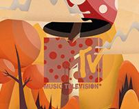 MTV weird art