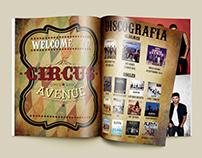 Auryn - Circus Avenue Night Tourbook