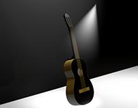 Guitar 3D Modeling