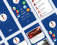FIFA World Cup Russia 2018 APP Redesign Concept