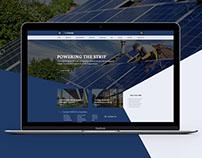 faoEnergy - Website PSD FREEBIE