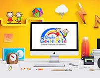Projeto Logotipo e Fardamento - Creche Gente Feliz