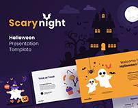 Free Scary Halloween Presentation Template