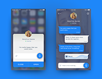 Daily UI / #013 Direct Messaging