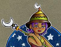 Moon wand