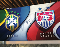 FOX SPORTS FIFA Women's World Cup Monitor Design