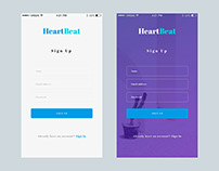 Free Sign Up App UI Screen