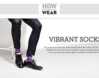 HTW Socks Editorial Page