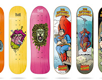 Cruzade Skateboards 2019 Deck Collection