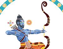 The dance of Rama