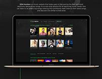 Website UX/UI design for IDM Hunters.