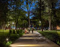 Сквер Огородная слобода