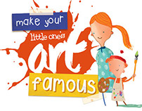 Kinder Chocolate - Make Your Little One's Art Famous