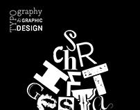 Plakat für eine Vernissage: Thema Schriftgestaltung