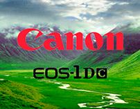 Cartel Presentación Nueva Canon EOS 1D C