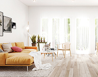 Interior design (Scandinavian style) @Finland