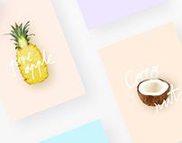 Summer Essentials | Posters Series