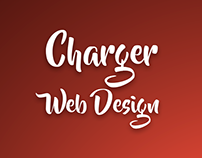 Charger - Web Design Red