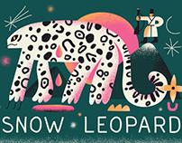 Illustrations of endangered animals