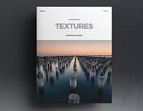 Textures - Magazine Template