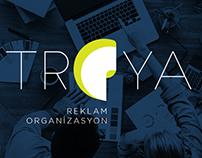 Troya Reklam Ajansı Kurumsal Kimlik, 2017, Antalya