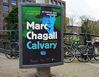 Exhibition campaign Calvary, Marc Chagall