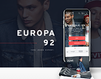 Europa92 - online fashion store