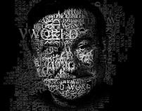 Famous Typography Portrait