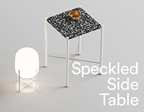 Speckled Side Table