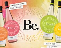 Be. Wine - Site Design