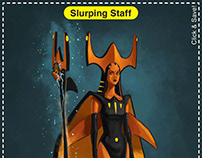 Slurping Staff Card