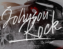 BRUSH FONT | Johnson Rock