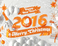 Marry Christmas & Happy New Year 2016!