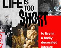Unlocked Interior - Poster Series