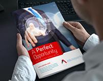 Brochure Design (Corporate Branding for Alpha Corp.)