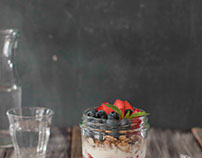 yoghurt ontbijtje